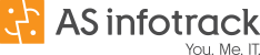 Logo der AS infotrack AG